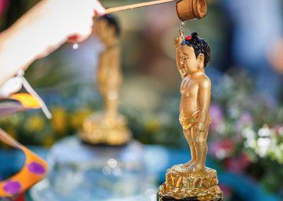Buddha Bathing