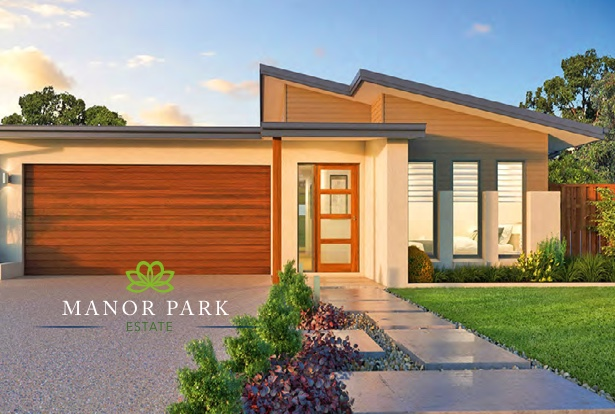 Single story house concepts in Manor Park Estate
