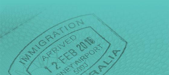 Migration Stamp in Passport