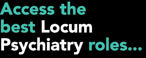 Locum Psychiatry