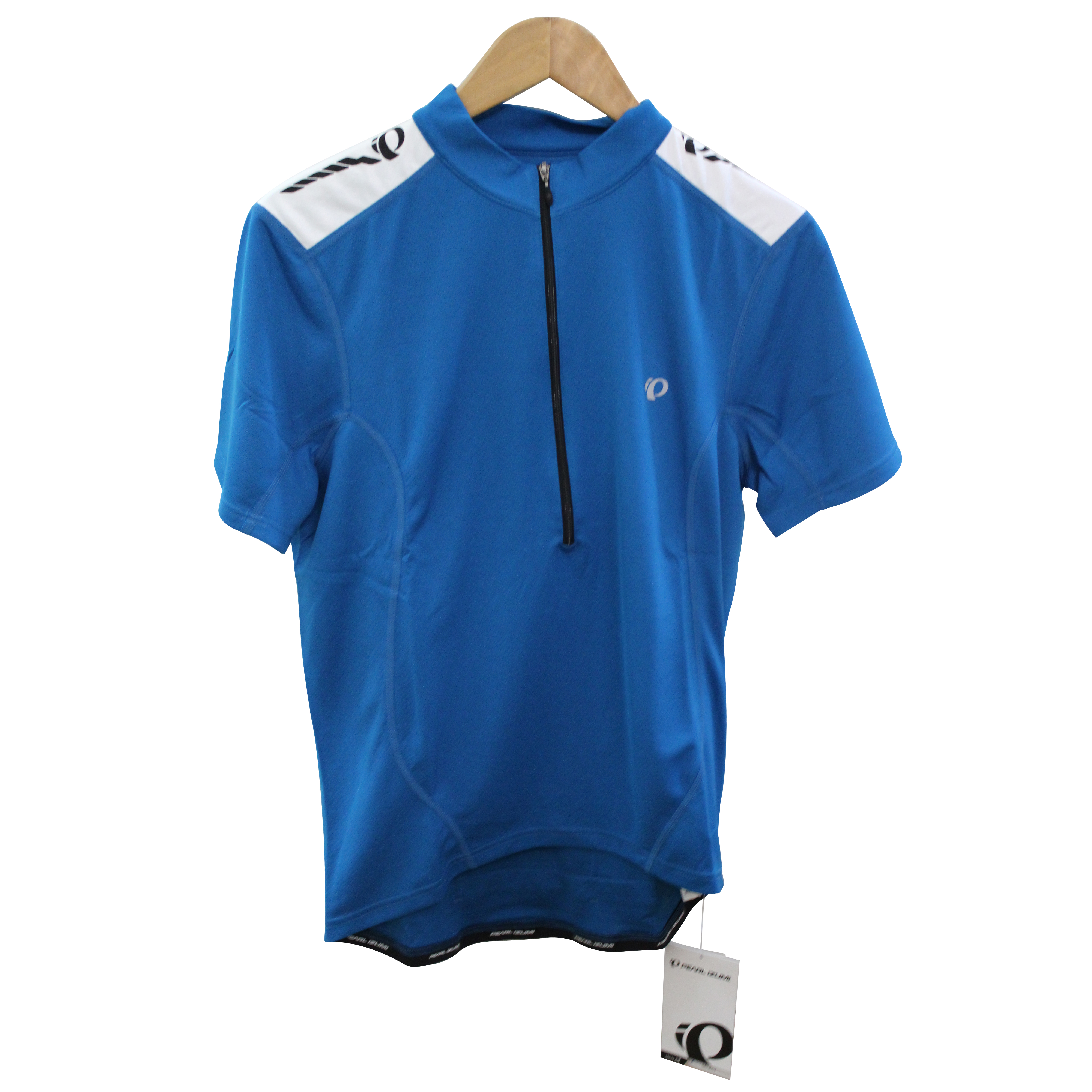 Pearl Izumi Cycling Gear Men s Jersey QUEST Blue Top M Bike Bicycle ... 553aa63d8