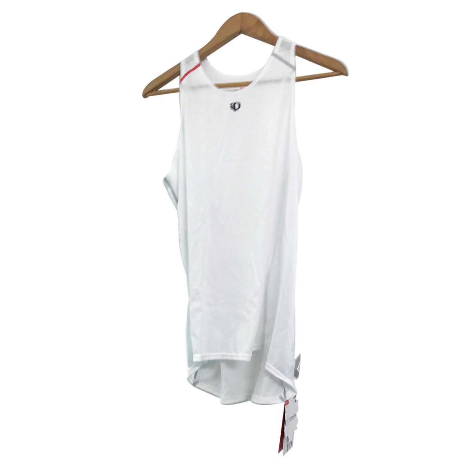 Pearl Izumi Cycling Bike Women Base Layer Sports Shirt Top TRANSFER White M NWT