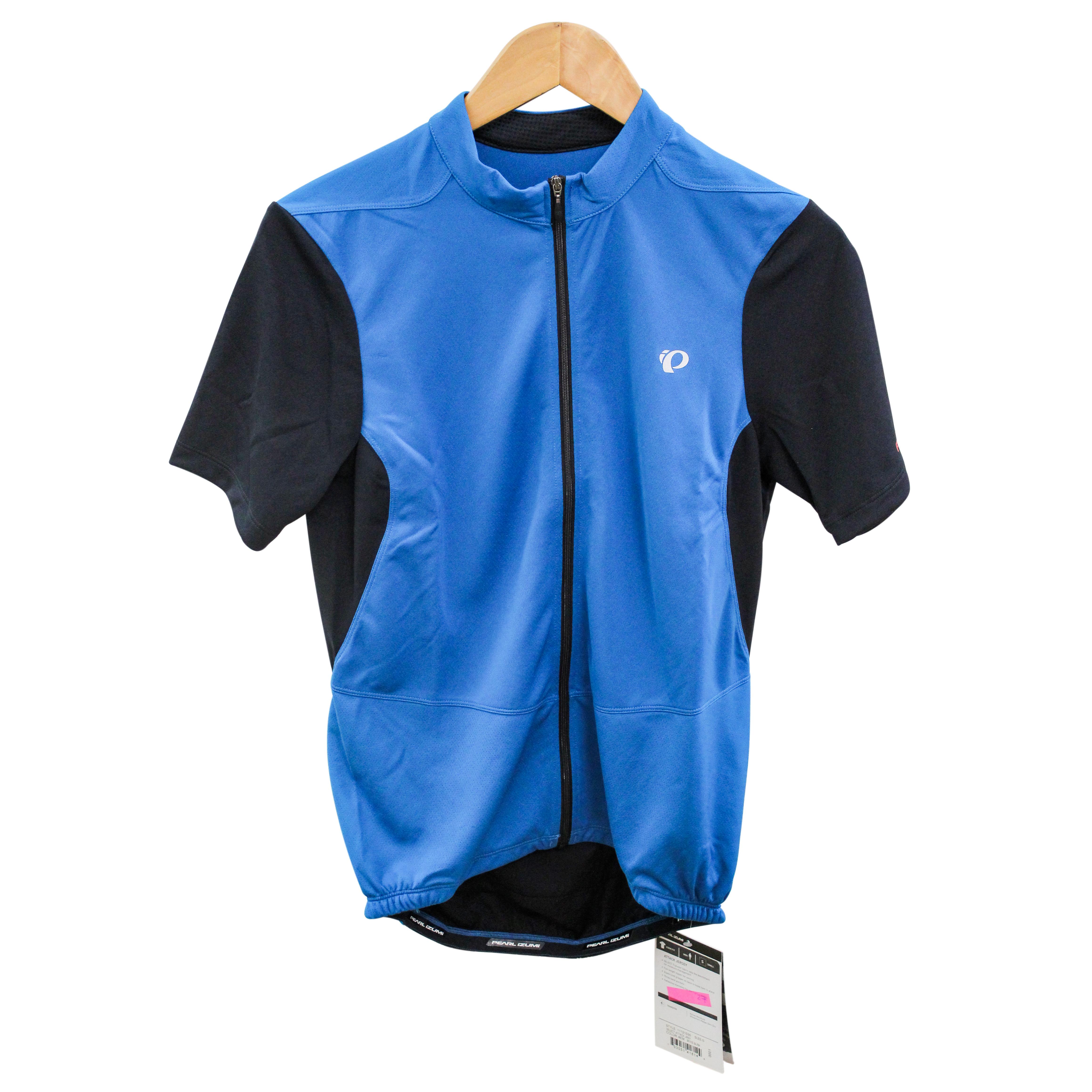 Pearl Izumi Cycling Jersey Men SELECT MYKS Bike Bicycle Black Top S ... 5df882fd1