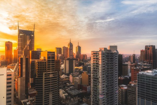 Smart Building Skyline