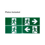 Exit Sign Plates