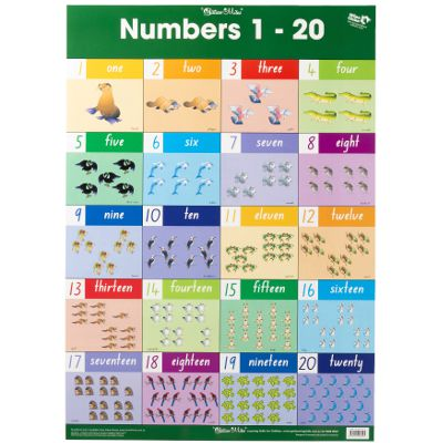 Wall Charts & Placemats category image