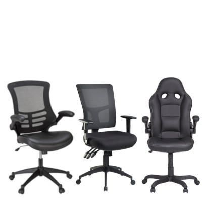 Awe Inspiring Office Chairs Seating Officeworks Home Interior And Landscaping Ymoonbapapsignezvosmurscom