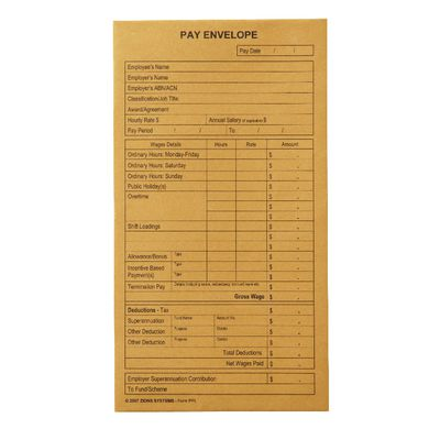 Pay Envelopes category image