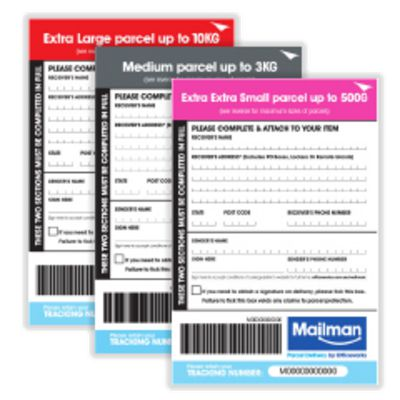 Mailman Parcel Labels category image