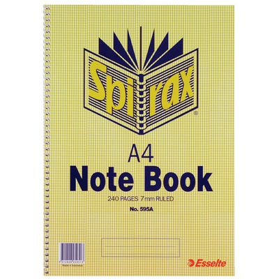 A4 Spiral Notebooks category image