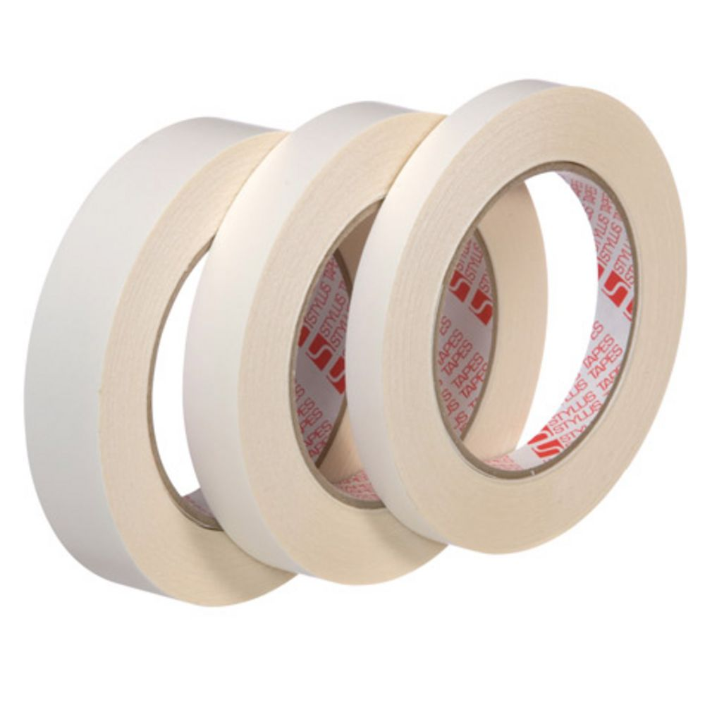 Stylus Double Sided Tissue Tape 24mm X 33m Officeworks