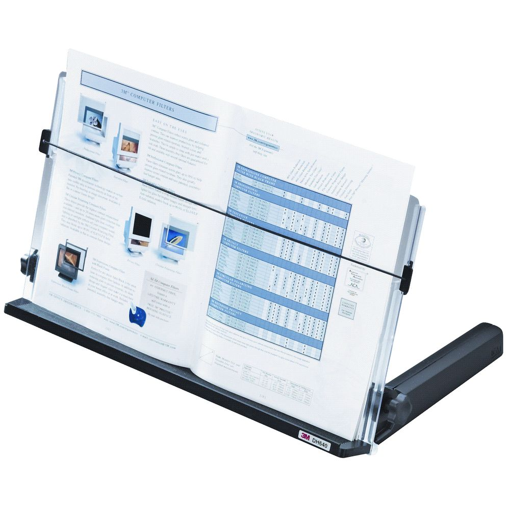 office paper holder. perfect office 3m dh640 18 in line document holder on office paper c