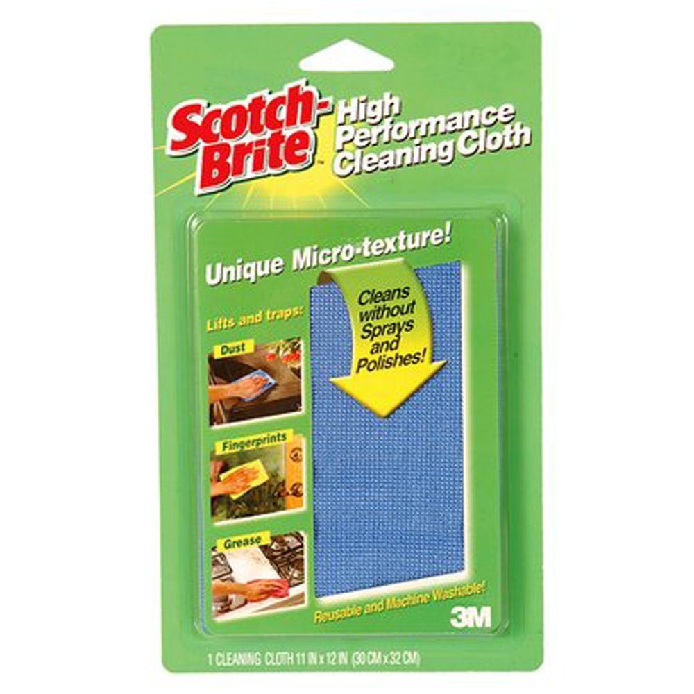 3m Microfiber Cleaning Cloth Price: Scotch-Brite High Performance Cleaning Cloth