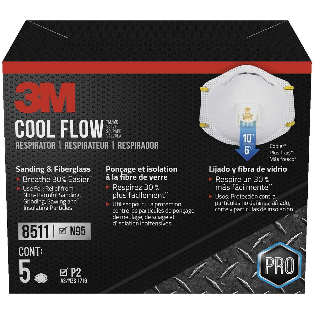 3m n95 cool flow mask