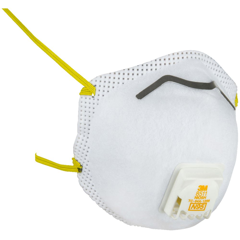 Sanding And 3m Fiberglass Valved Pack P2 5 Respirator Rated