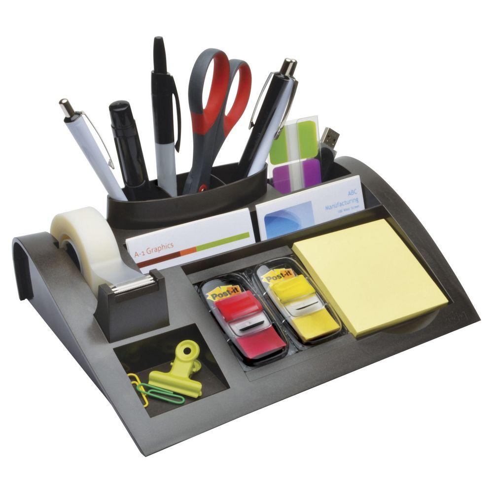 Desk Organizer 3m Post It C50 Desk Organiser Set Officeworks