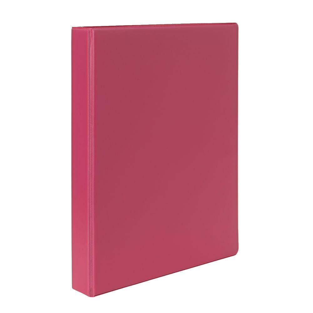 Binder A4 4 D-Ring 25mm Pink