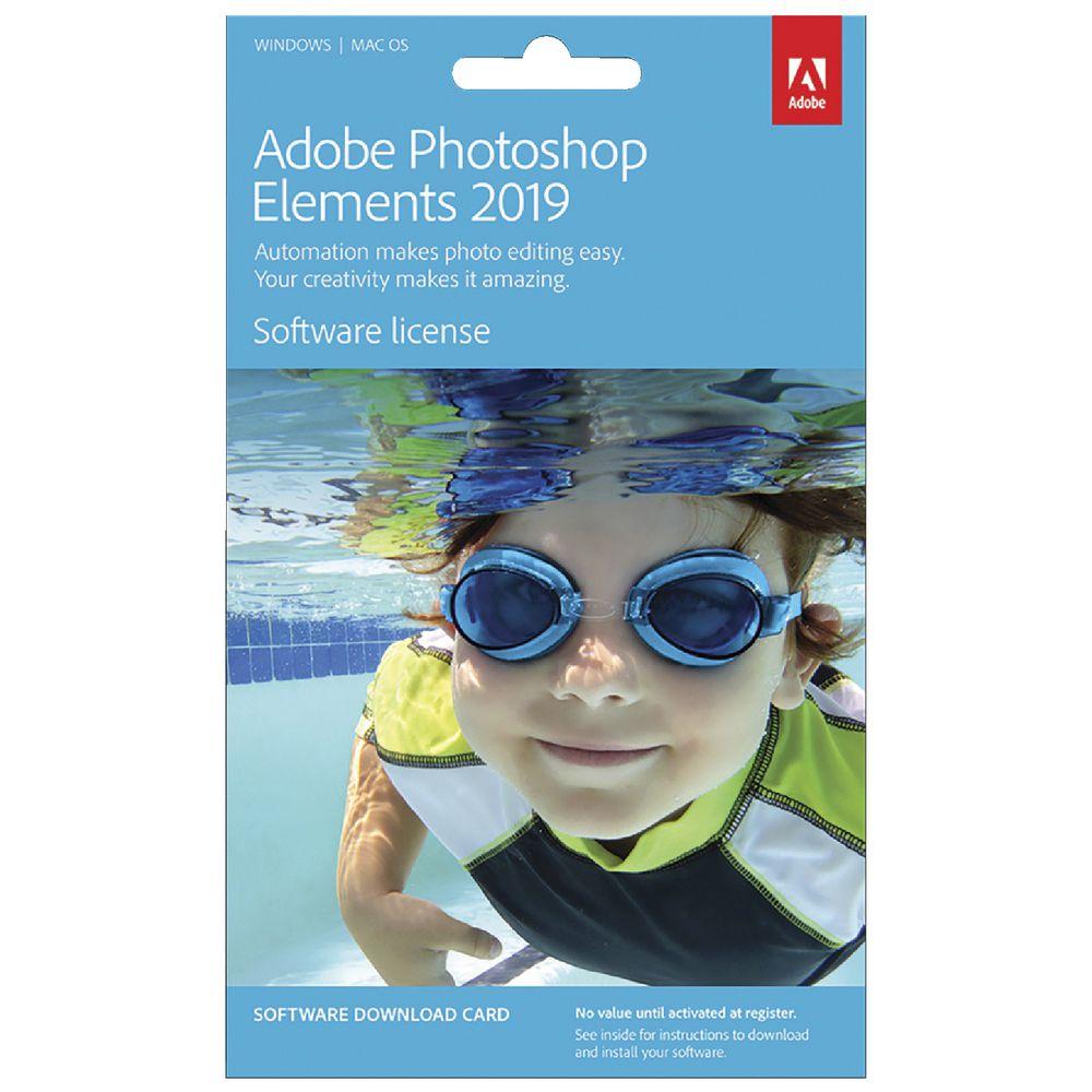 Adobe Photoshop Elements 2019 Card | Officeworks