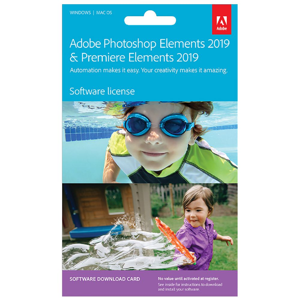 Adobe Photoshop And Premiere Elements 2019 Card Officeworks