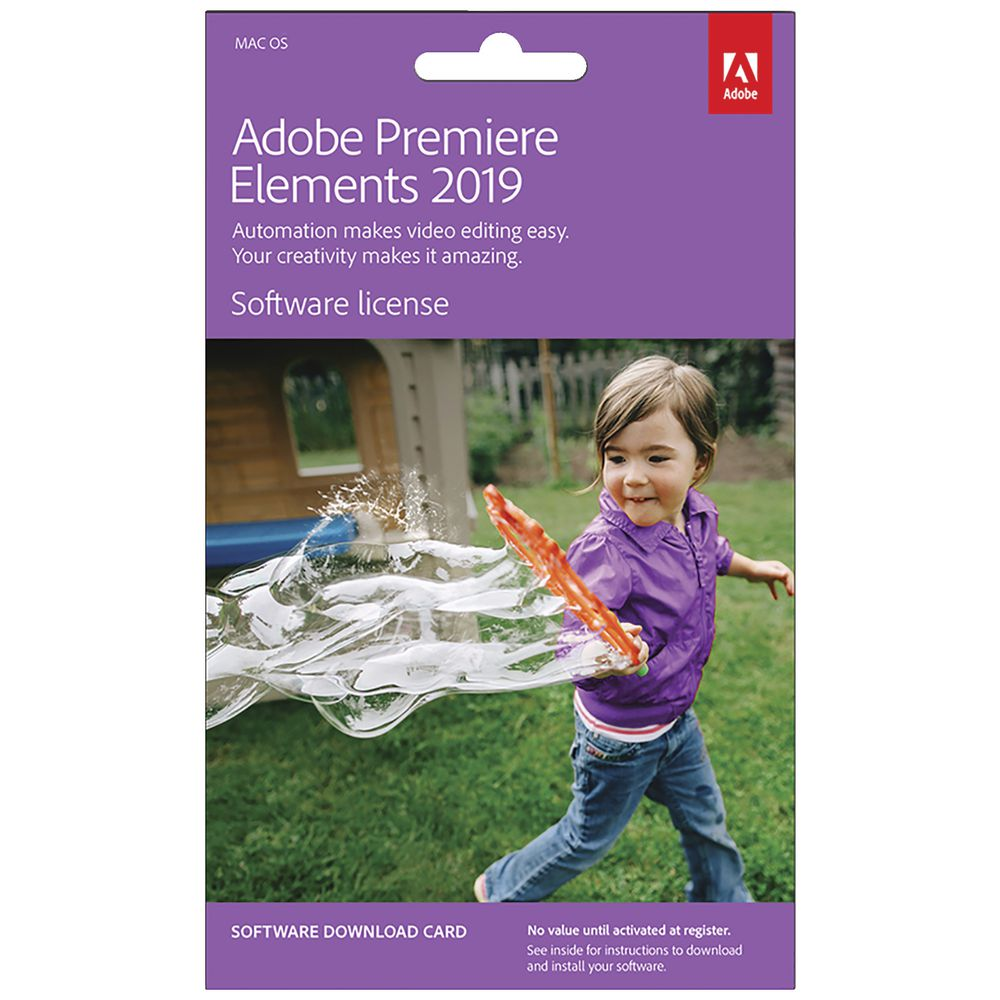 Adobe Premiere Elements 2019 Mac Download | Officeworks