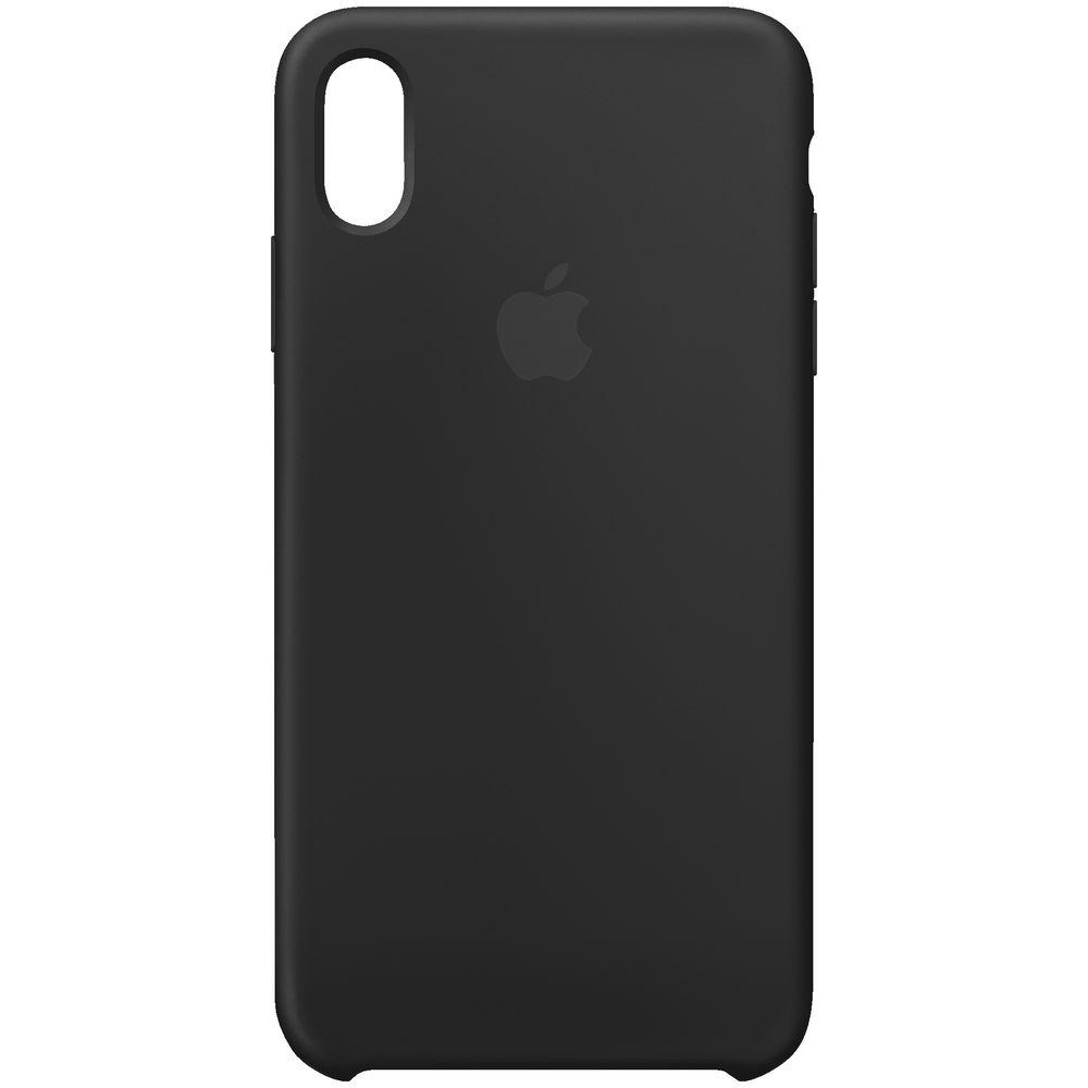 newest 2b868 9b1dd iPhone XS Max Silicone Case Black | Officeworks