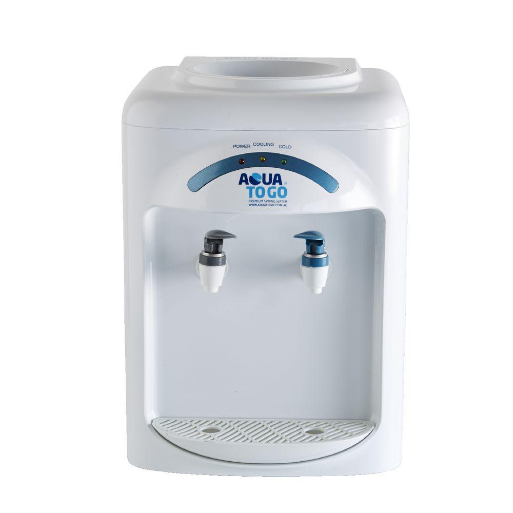 aqua to go aqua bench top water cooler | officeworks