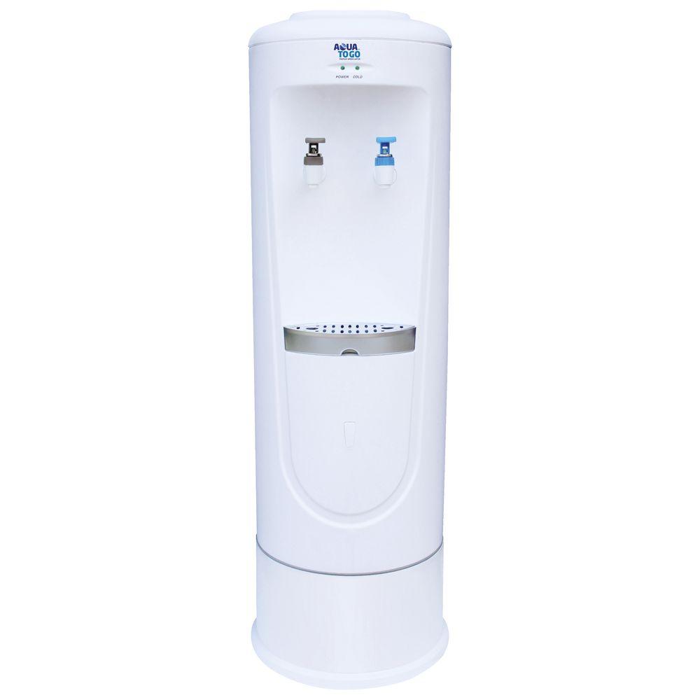 aqua to go vita floor standing water cooler | officeworks