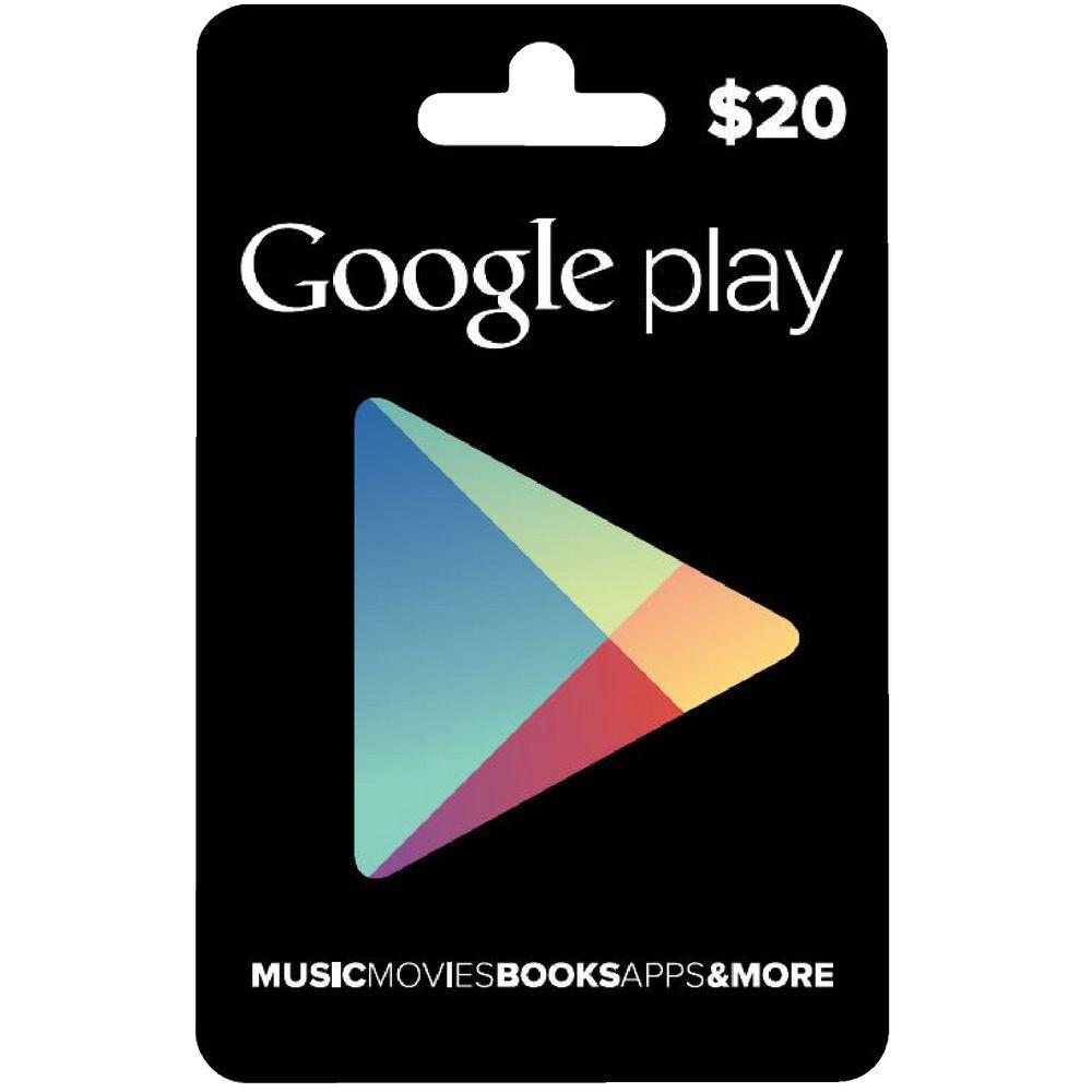 Google Play Gift Card $20