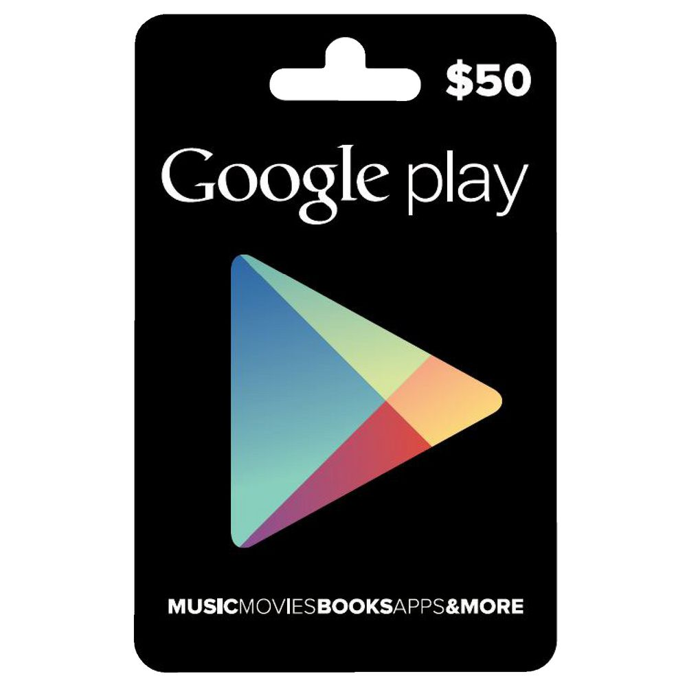 Google Play Gift Card $50 | Officeworks