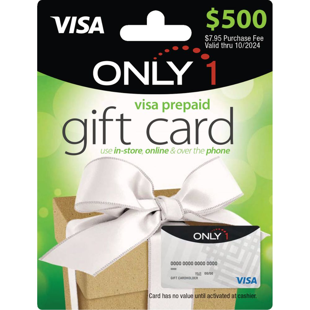 Only 11 Visa Gift Card $11
