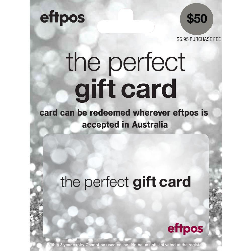 eftpos silver gift card 50 officeworks. Black Bedroom Furniture Sets. Home Design Ideas
