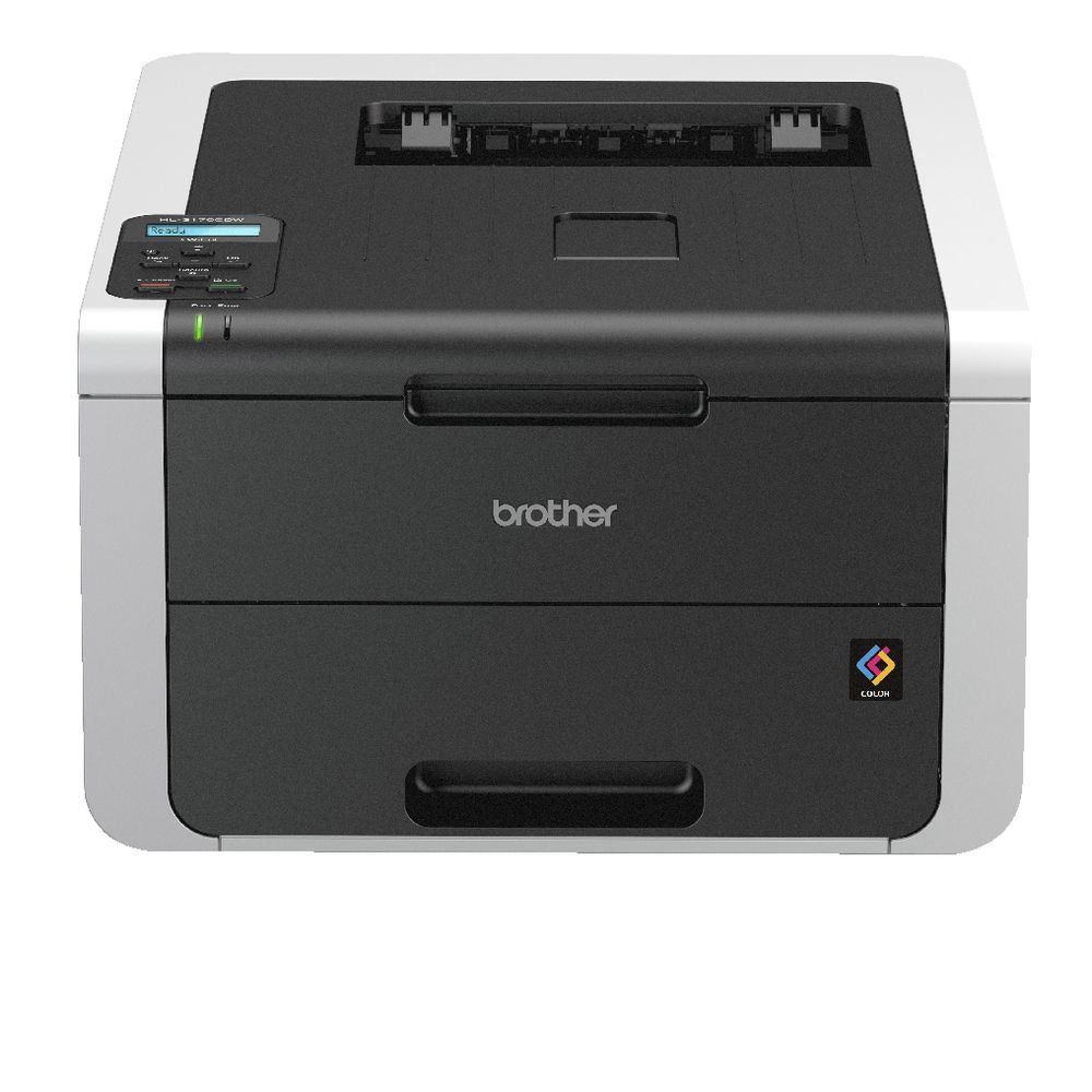 brother wireless colour laser printer hl 3170cdw officeworks