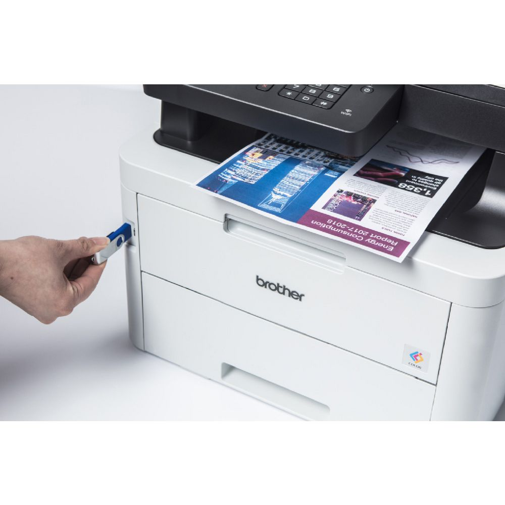 Brother Colour Laser Wireless Printer MFC- L3750CDW