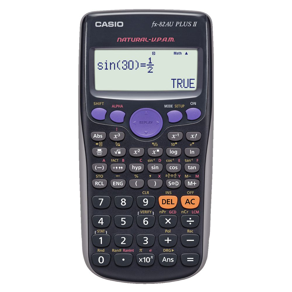 scientific calculators  casio fx82au plus ii scientific calculator