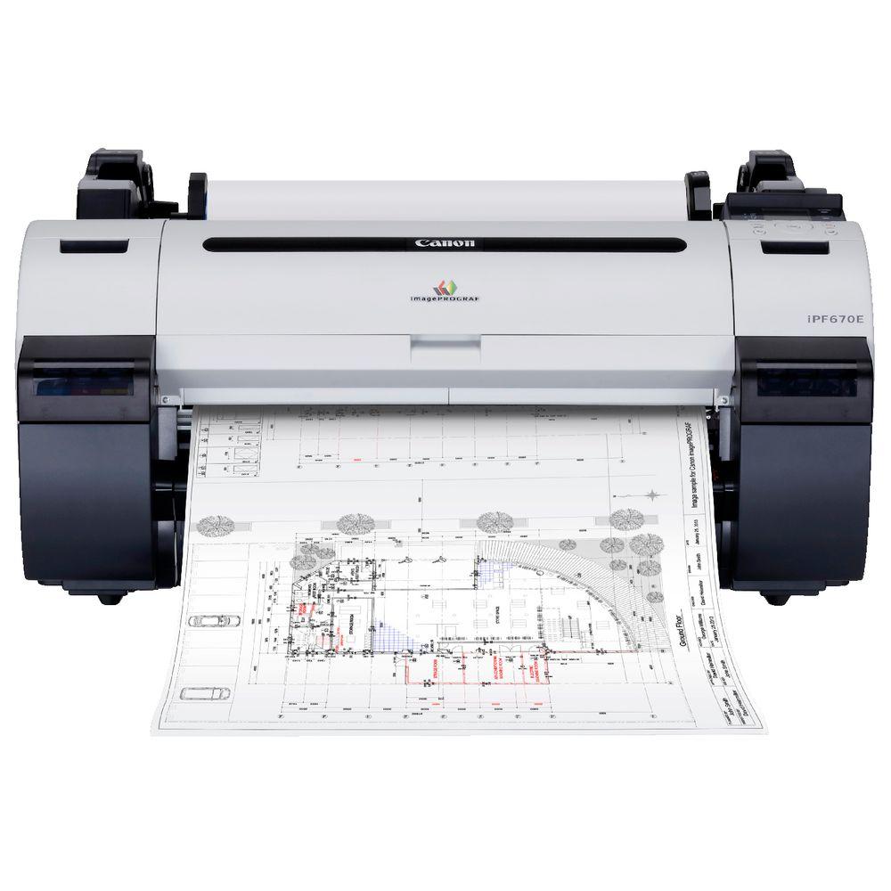 Canon Imageprograf 24 Quot Printer Ipf670e Officeworks