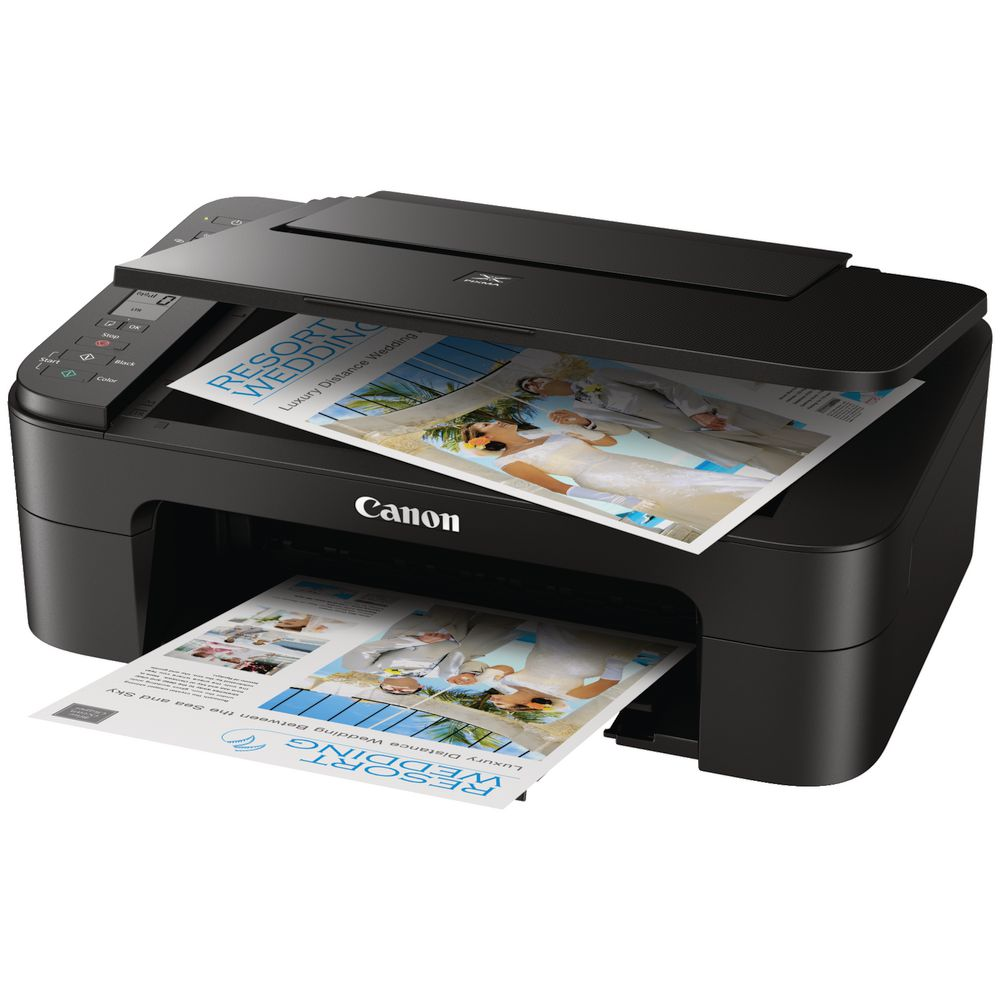 Canon Pixma Home Inkjet Printer Black TS3360 | Officeworks