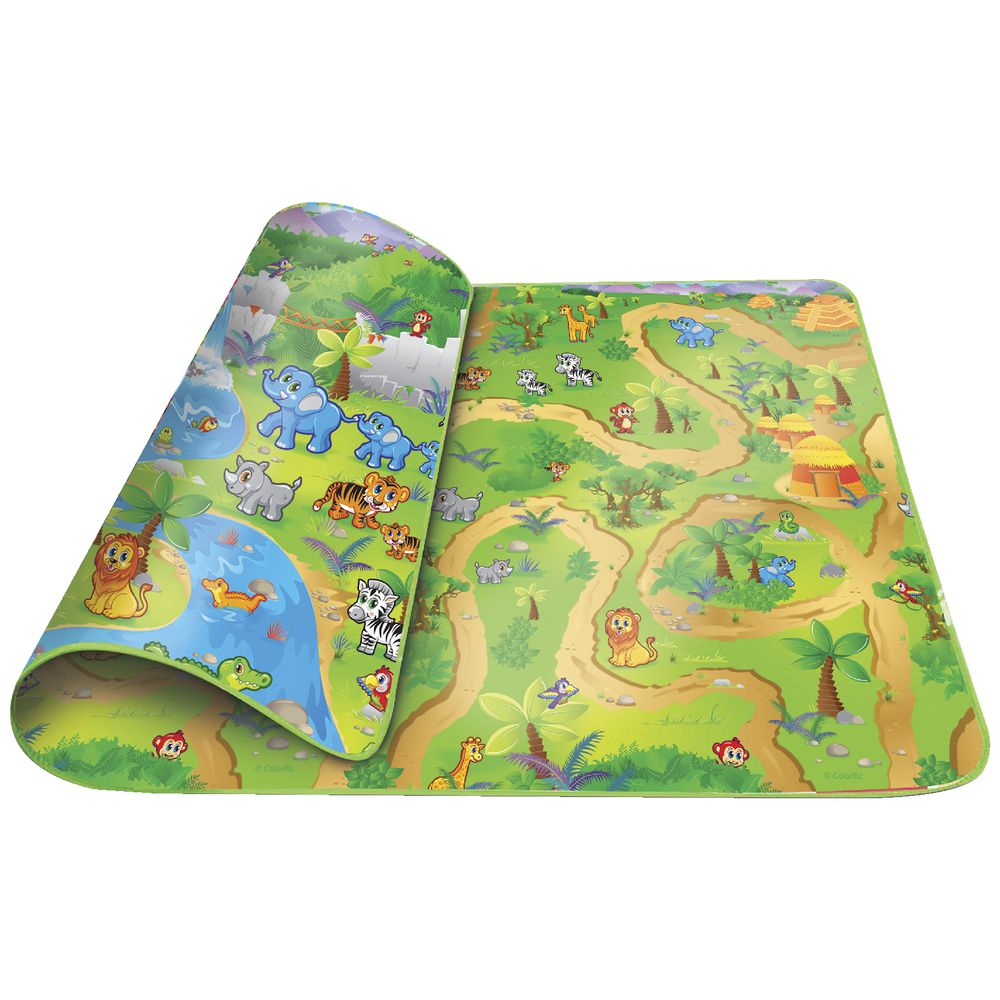Jolly Kidz Roly Poly Playmat Jungle Officeworks