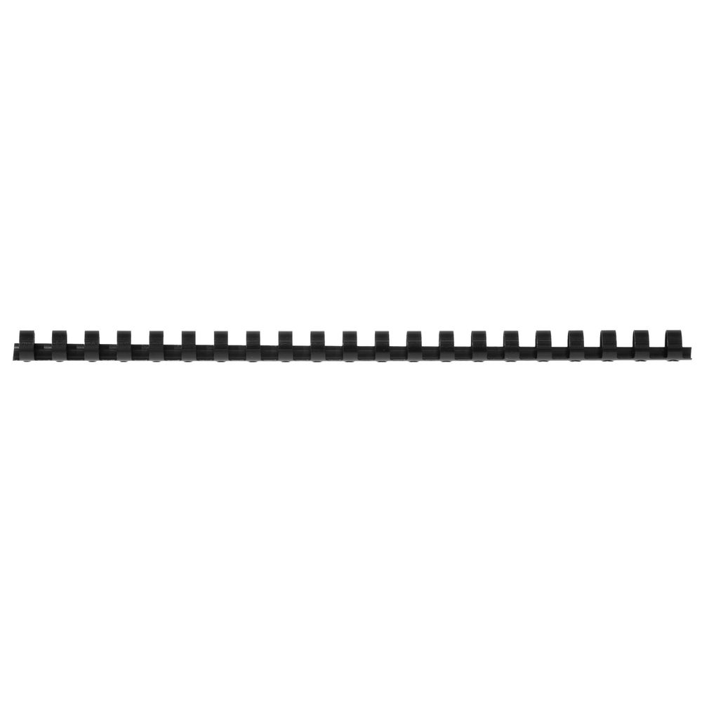 Gbc binding comb 21 loop plastic 12mm black 100 pack for Loop binden