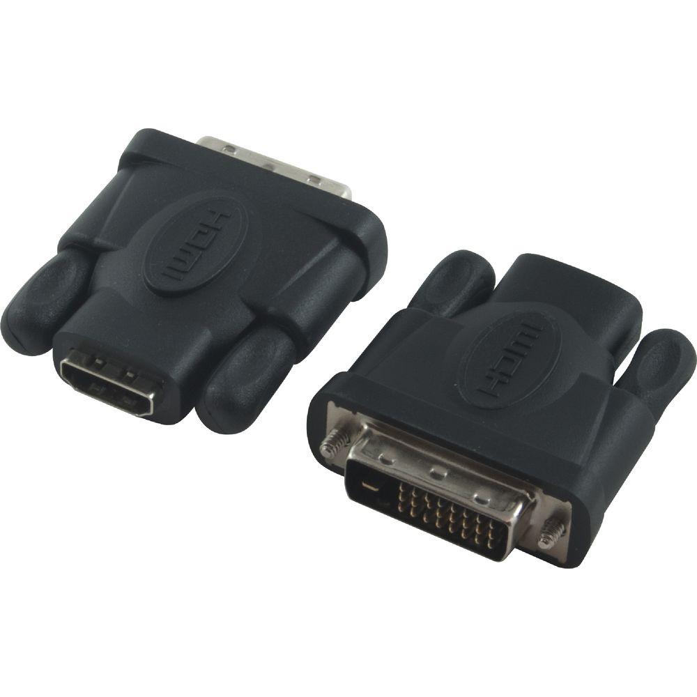 MINI HD Display DVI 24+5 Male to HDMI Female Converter HDMI to VGA Adapter UP