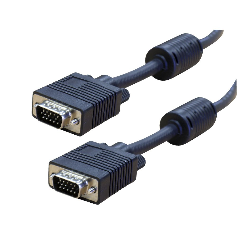 Comsol 10 Pin Male to 10 Pin Male VGA Monitor Cable 10m