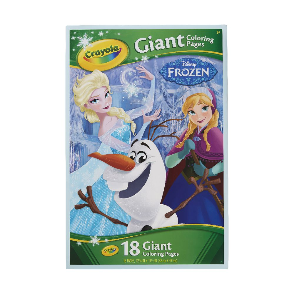 Crayola Giant Colouring Pages Frozen