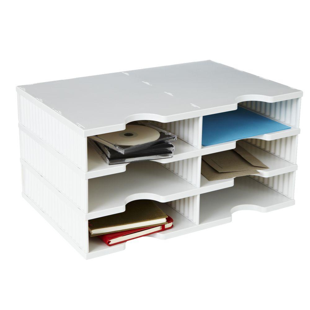 100 Desktop File Sorter Plastic Guerbrilla Plastic