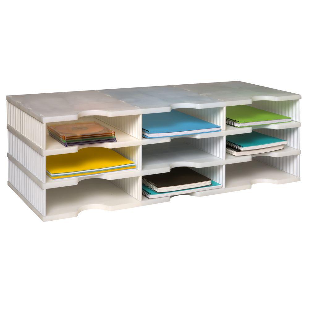 Table number holders officeworks ufold a4 brochure holder alternative product image for mini - Officeworks desktop ...