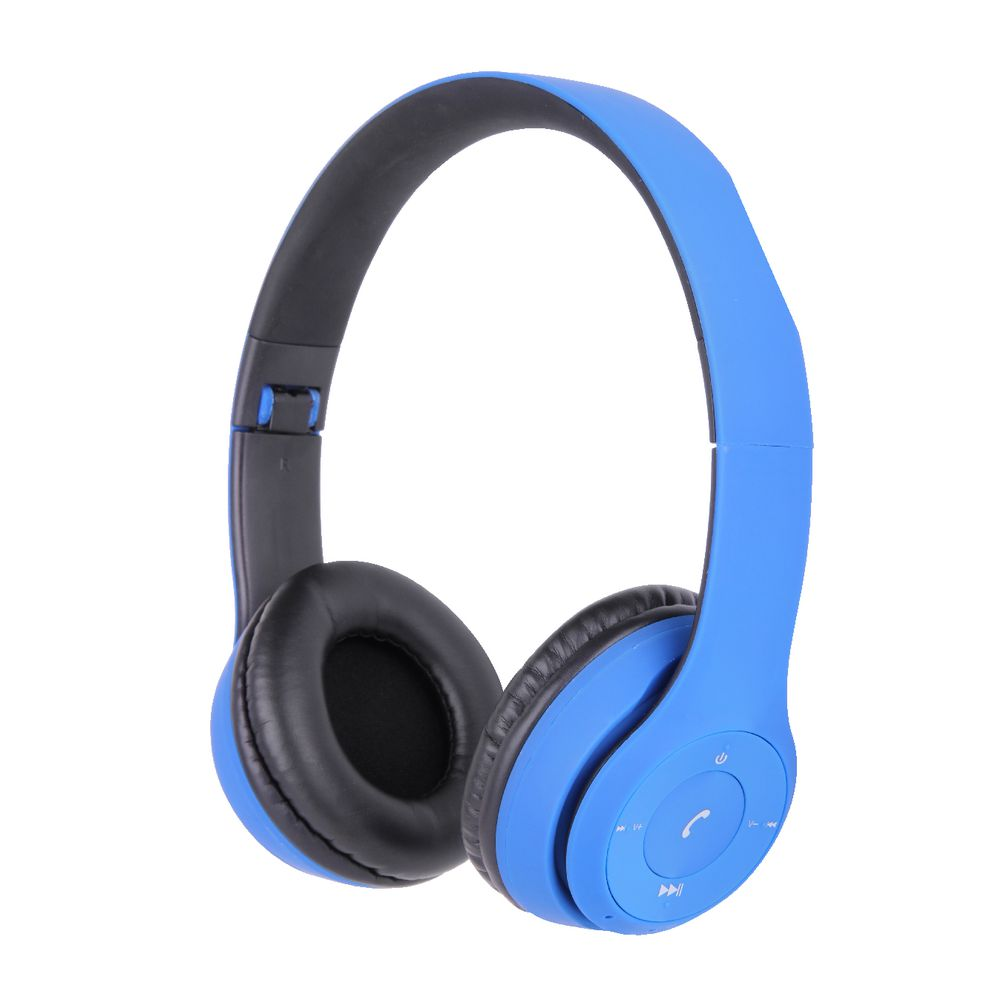 qudo bluetooth on ear headphones blue officeworks. Black Bedroom Furniture Sets. Home Design Ideas