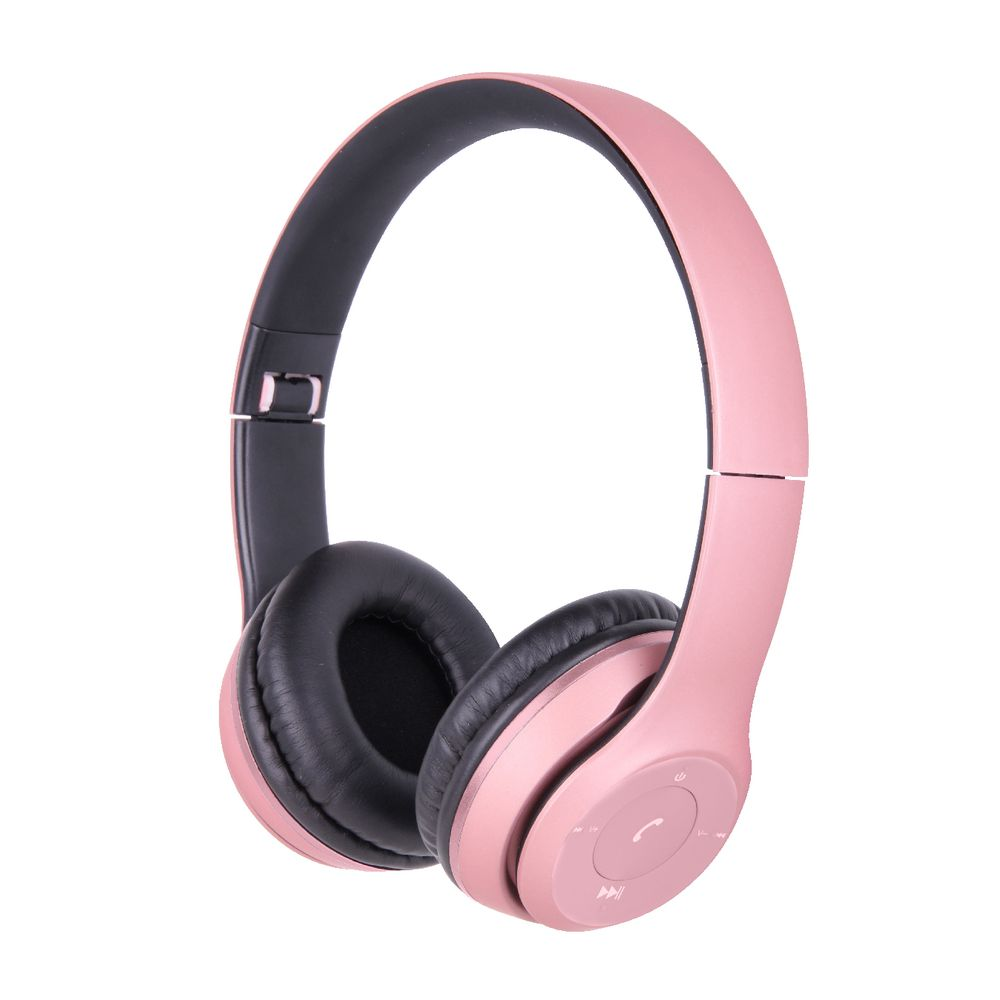 qudo bluetooth on ear headphones pink and grey officeworks. Black Bedroom Furniture Sets. Home Design Ideas