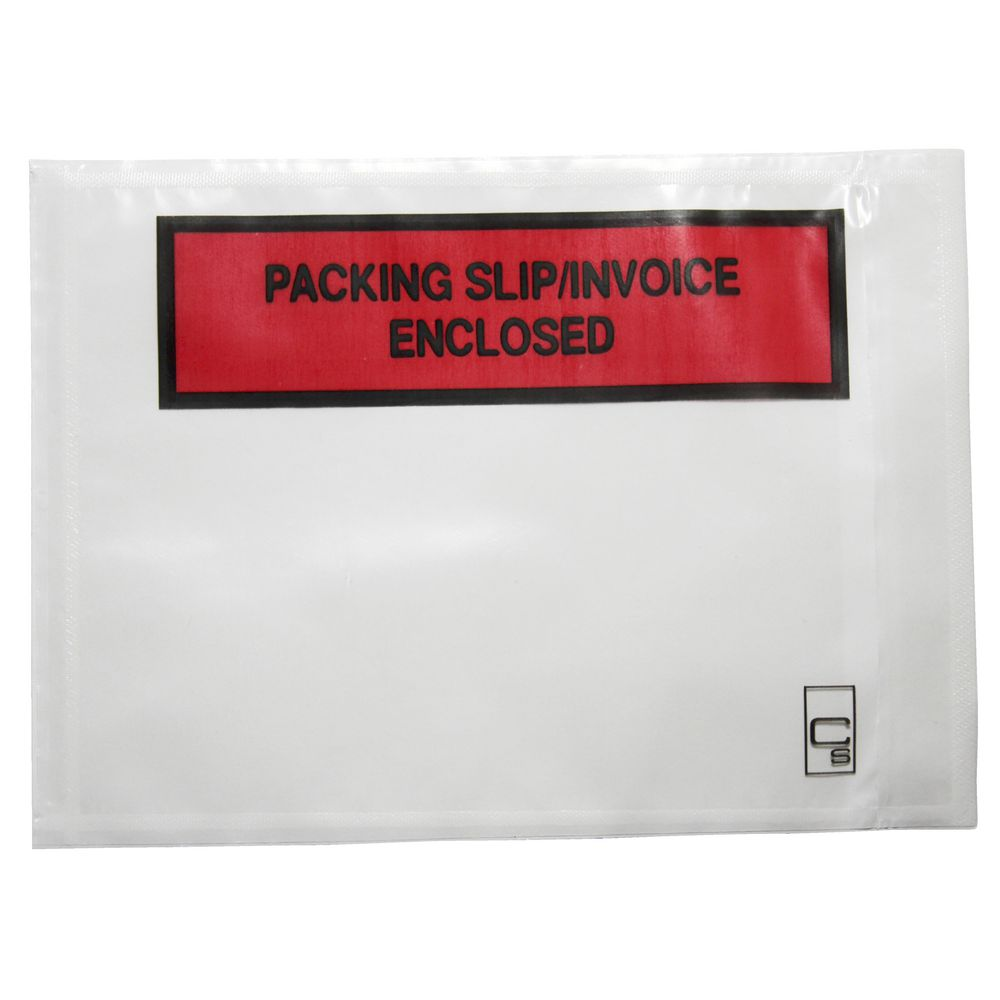 cumberland packing slip enclosed envelopes clear pack cumberland packing slip enclosed envelopes clear 1000 pack