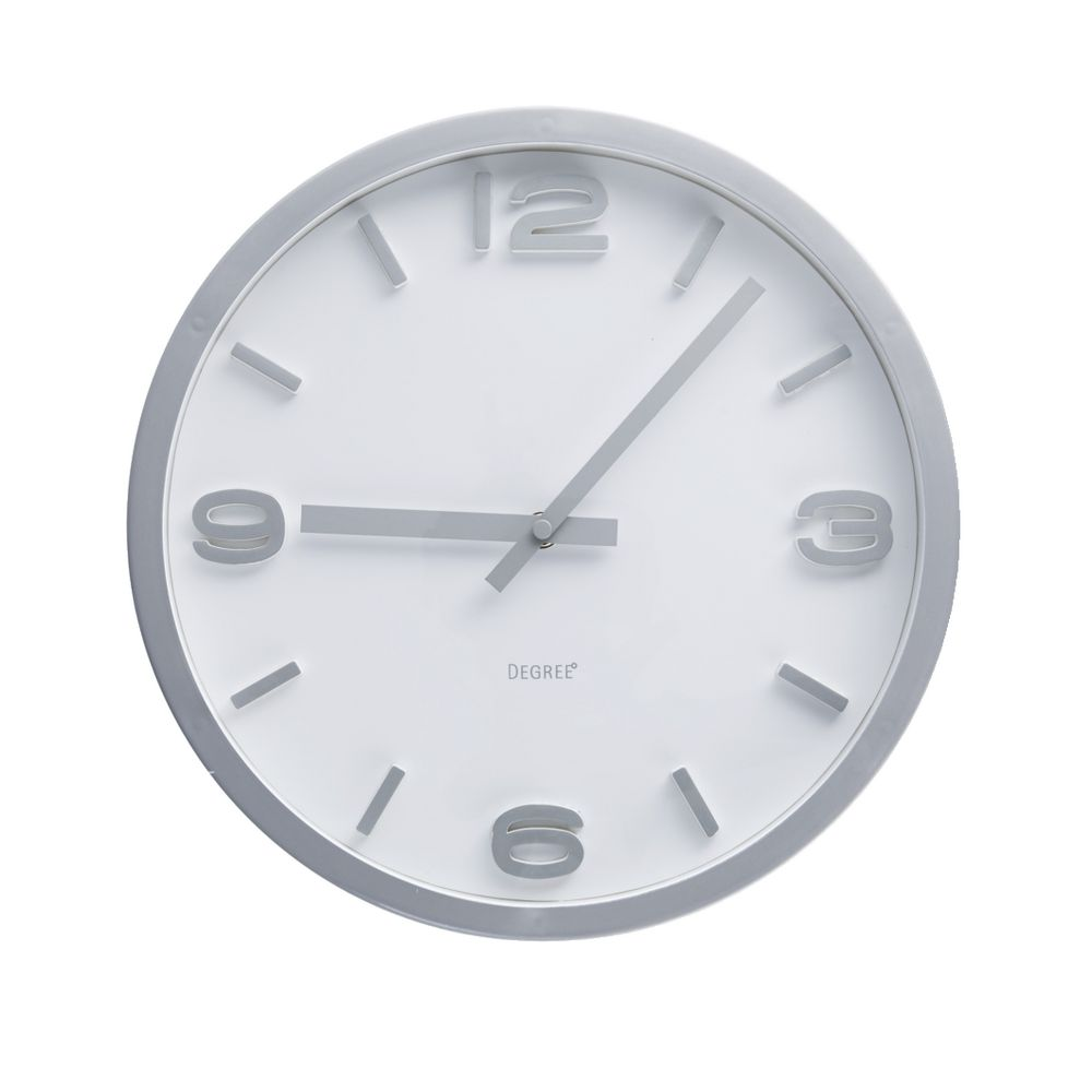 Wall clocks alarm clocks officeworks degree elapse 30cm clock amipublicfo Images