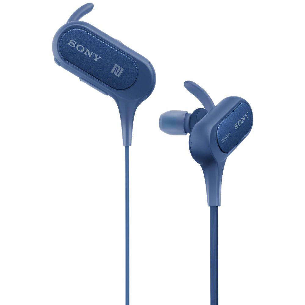 Sony Extra Bass Sports Bluetooth Earphones Blue XB50BS