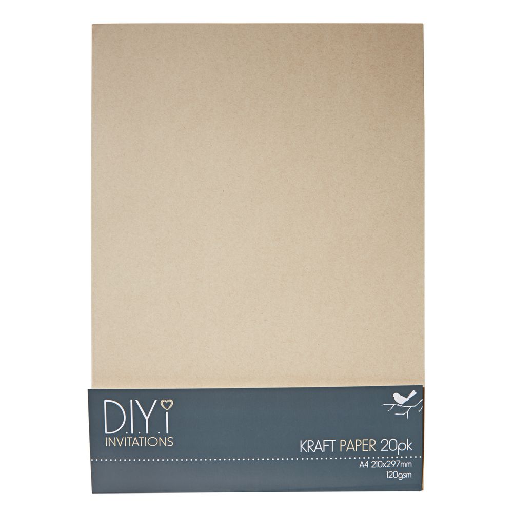 gsm A  Brown Kraft Paper Wood Pulp classic invitation card paper      sheets  Pinterest