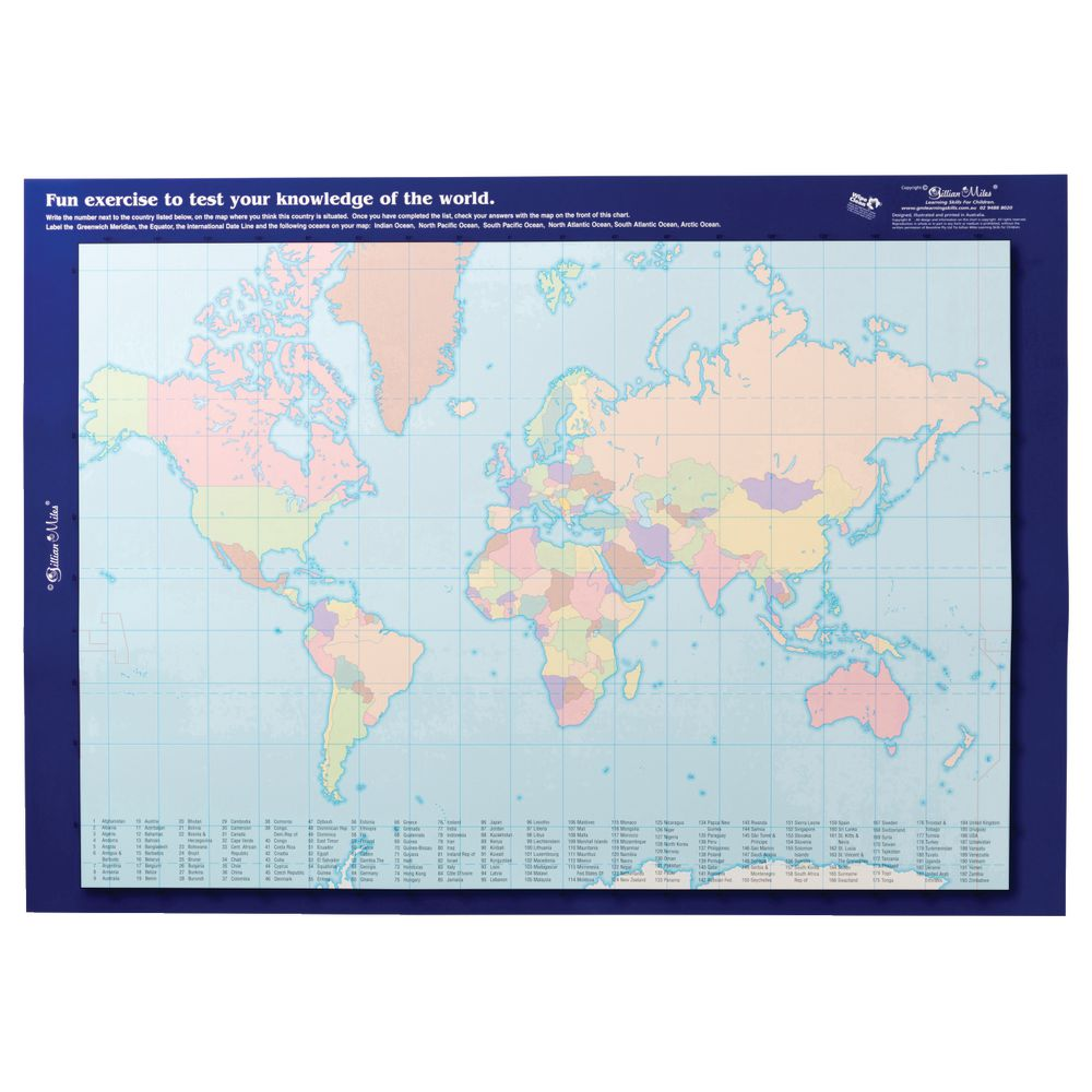 Gillian miles world map with flags double sided wall chart gillian miles world map with flags double sided wall chart gumiabroncs Image collections